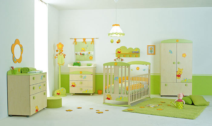 Chambre bebe decor assorti