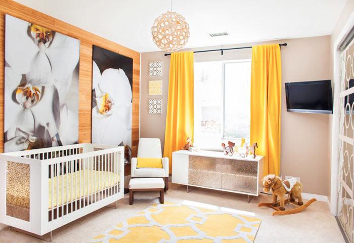 Chambre bebe moderne