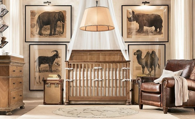 Chambre bebe safari