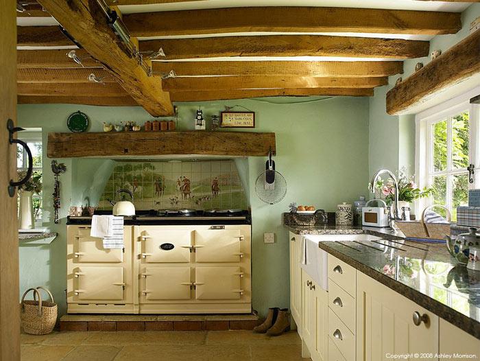 Cuisine style ferme inspiration cottage