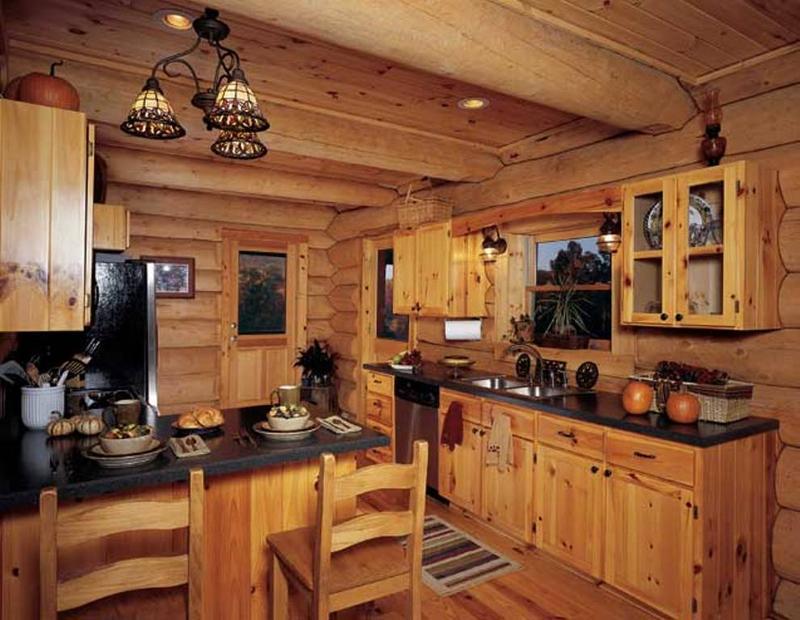 Cuisine style ferme rustique et moderne