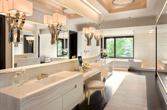 Des lampes pour une salle de bain design
