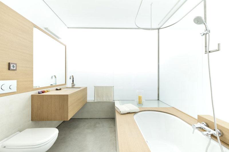 Salle de bain design ambiance spa