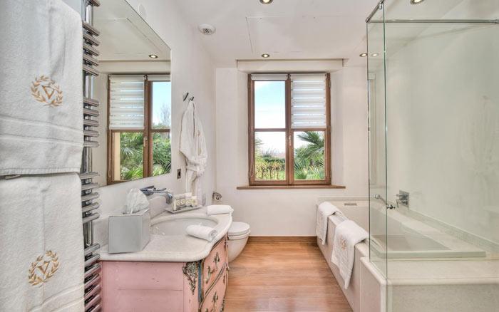 Salle de bain vintage chic design