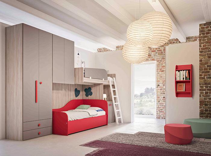 Chambre enfant deco minimaliste
