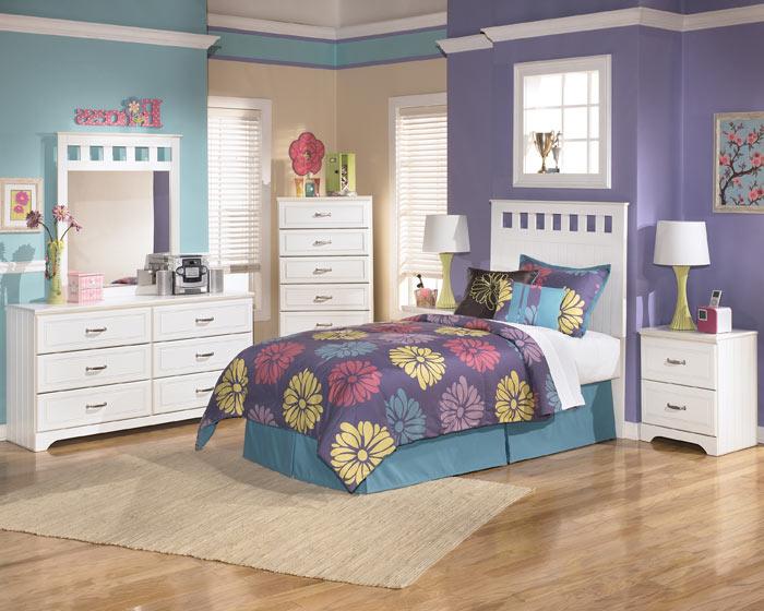 Chambre enfant mobilier blanc