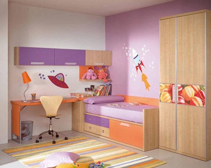 Chambre enfant place optimisee