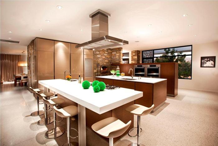 Cuisine americaine style loft