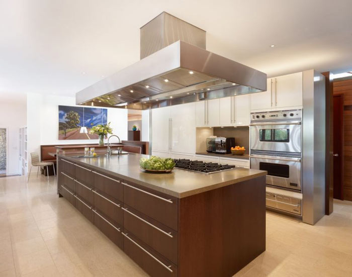 Ilot cuisine moderne