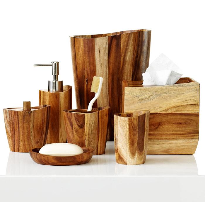 Accessoires salle de bain scandinave