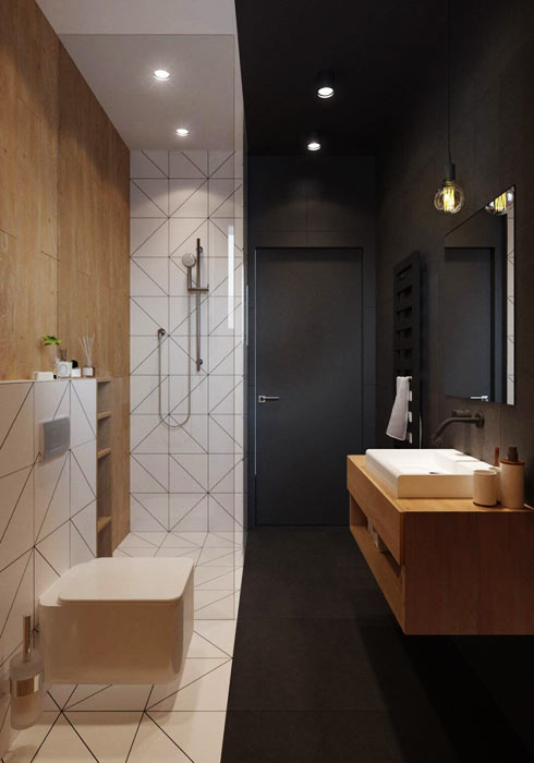 salle de bain scandinave pour un style sympa envie d co. Black Bedroom Furniture Sets. Home Design Ideas