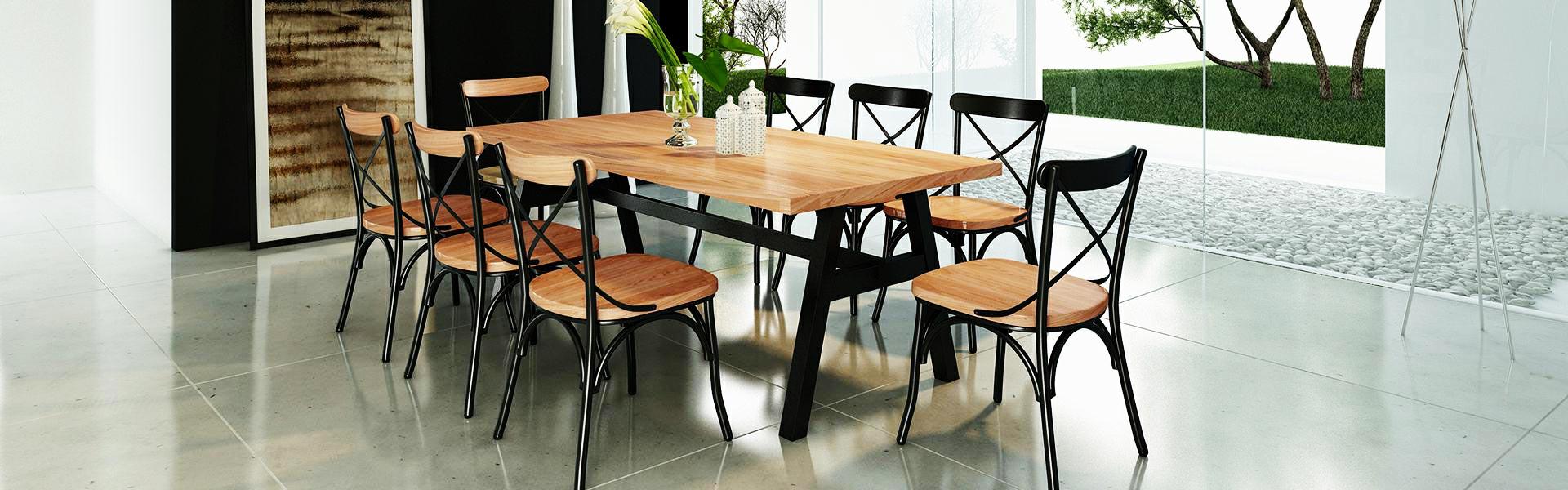 Fond De Hotte Verre Ikea salle à manger industrielle, les tendances actuelles - envie