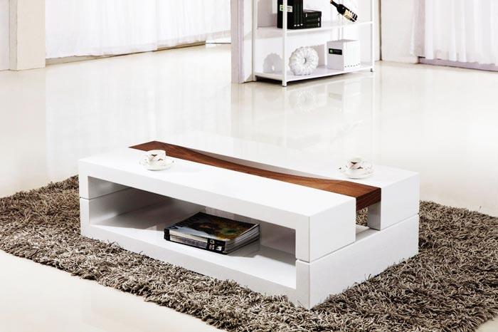 Table basse moderne laquée