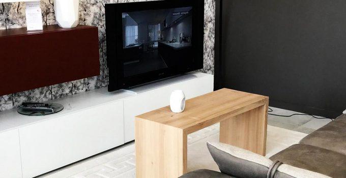 Meuble tv bois