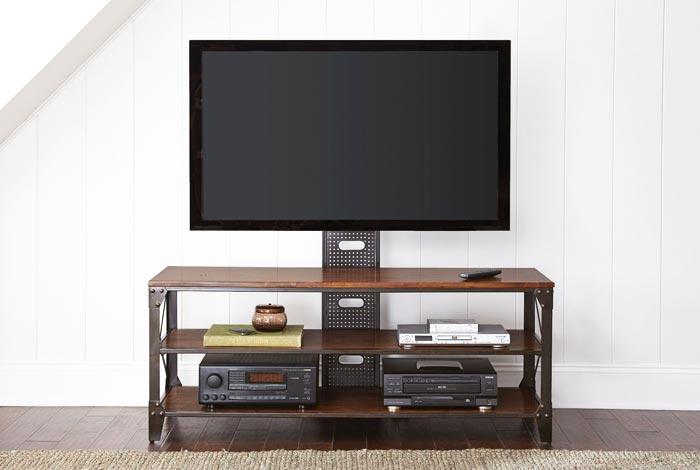 Meuble tv moderne industriel